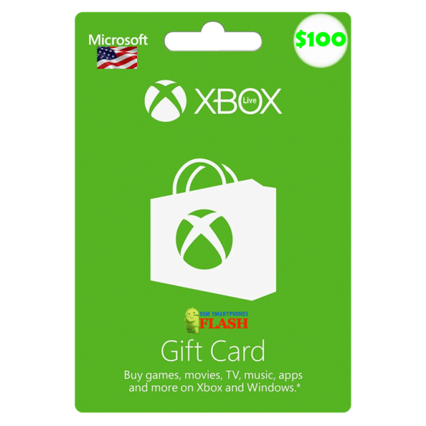 Xbox Live Gift Card 100 USD Email Delivery (US)