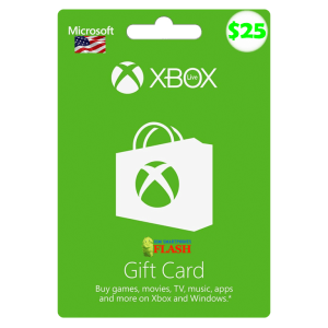 Xbox Live Gift Card 25 USD Email Delivery (US)