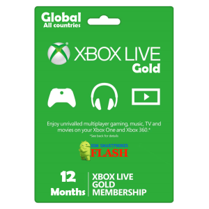 Xbox Live Gold 12 Months Membership (GLOBAL)