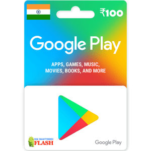 Google Play Gift Card 100 INR (IN)