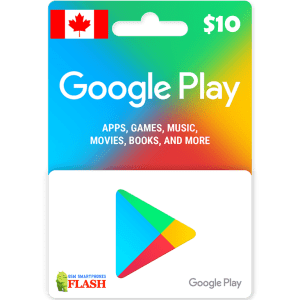 Google Play Gift Card CAD10 (CA)