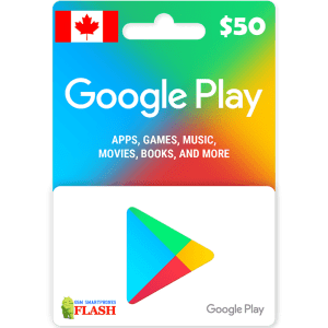 Google Play Gift Card CAD50 (CA)