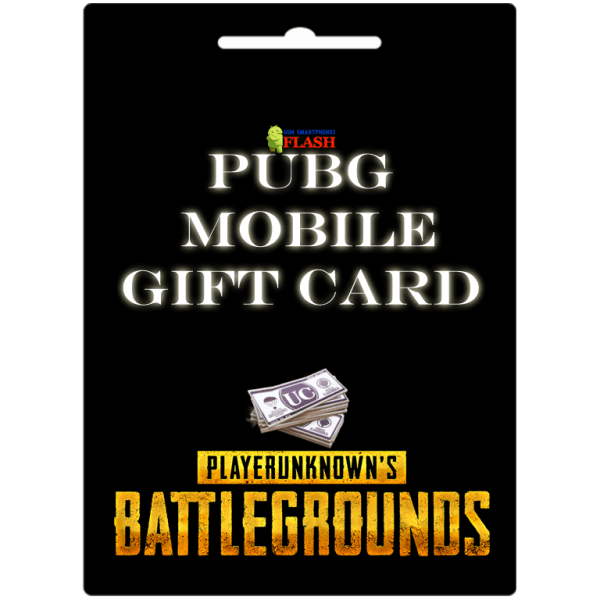 Pubg Mobile Unkown Cash Gift Cards