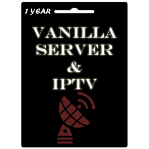 Vanilla Server Official 1 Year Subscription