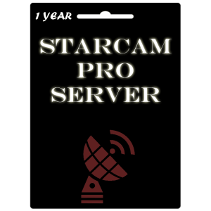StarCam Pro Server Official 1 Year Subscription