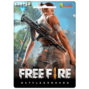 Free Fire 100 + 10 Diamonds Card Garena (Best price)