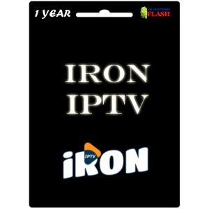 IRON IPTV 1 Year Subscription (Cheap Price)