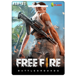 Free Fire 210 + 21 Diamonds Card Garena (Best price)