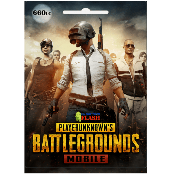 Pubg Mobile 660 UC Global Card (Best price)