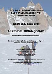 Stage de Alpinismo Invernal
