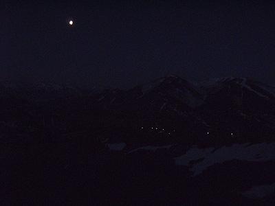 Torrebarrio y la luna