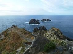 Os tres aguillons. La frontera entre el Cantábrico y el Atlántico.