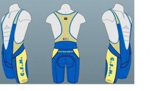 Culotte diseño azul vainilla