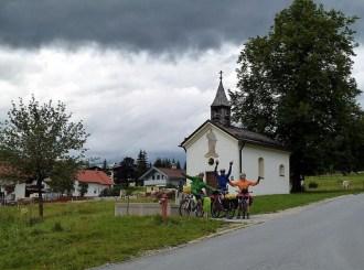 Ehrwald Oberdorf, Austria, el primer puerto quedó atrás (por Pepe)
