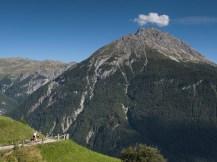 El valle de bajada es espectacular (por Javi)
