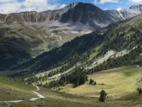 Subiendo al pass de Costainas, Suiza (por Javi)