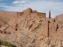 Kasbah en ruinas.