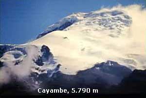 Cayambe 5.790m
