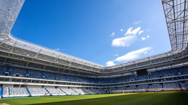 Chiêm ngưỡng 12 sân vận động hiện đại bậc nhất nước Nga, được sử dụng để phục vụ World Cup 2018 - Ảnh 6.