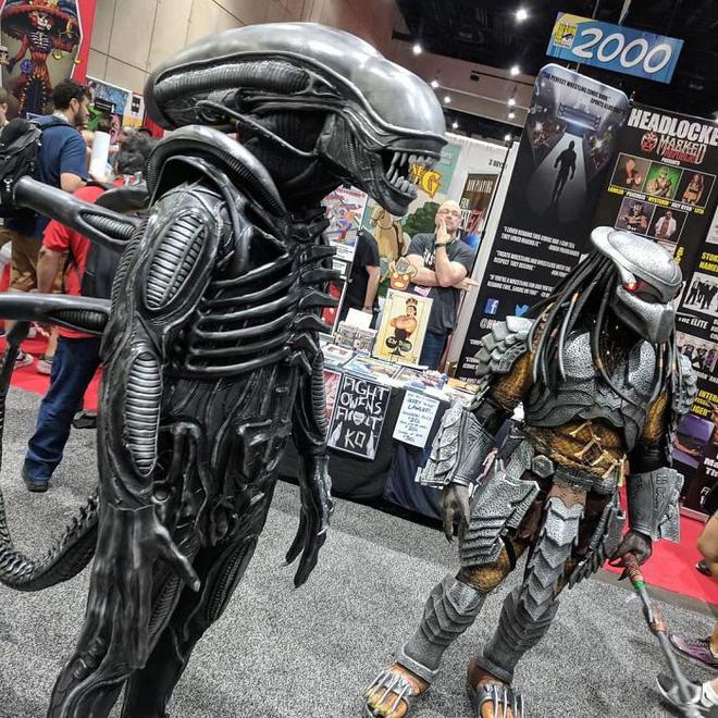 Chiêm ngưỡng những bộ cosplay tuyệt vời nhất San Diego Comic Con 2018 - Ảnh 15.