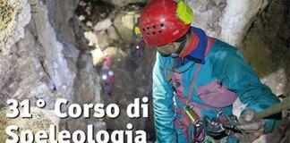 locandina 31 corso speleologia