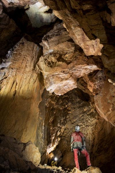 Shpella Shtares - Uno degli ambienti interni