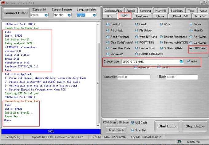 Download MiracleBox 2.73 crack