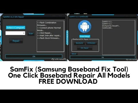 Download SamFix V1.2 crack