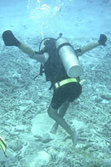 2009.10_Primera inmersión luego de la lesión medular. Isla de Bonaire