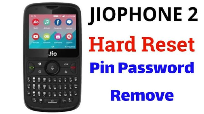 Full flashing jiophone 2