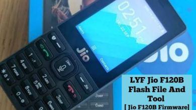 Photo of Jiophone F120B Flash File (2019-20) Latest Free Download