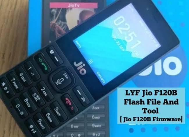 Jiophone F120B Flashing