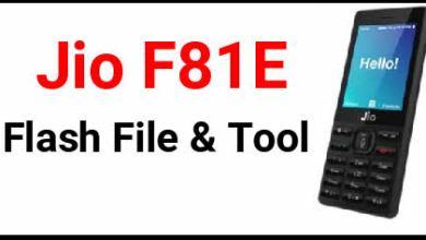 Photo of Jiophone F81E Flash File (2019 Edition) Free Download