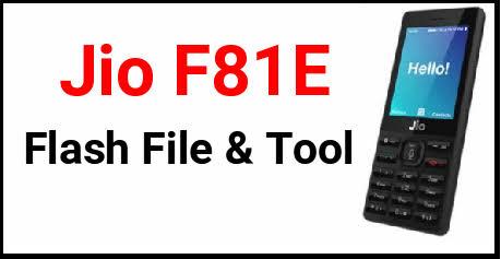 Jiophone F81E
