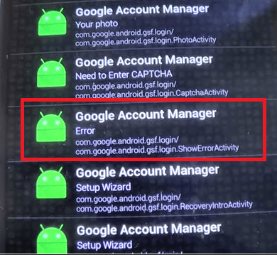 Google Account Bypass APK