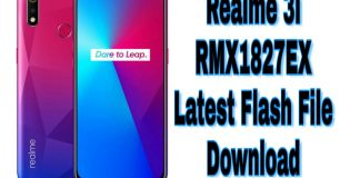 Realme 3i (RMX1827EX) Latest Flash Firmware Download
