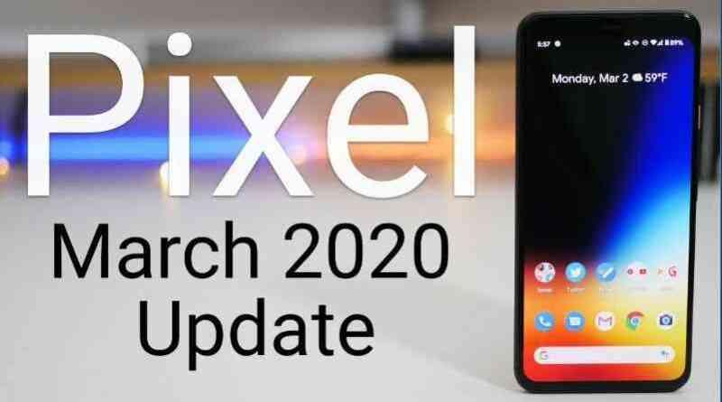 Pixel Update 2020