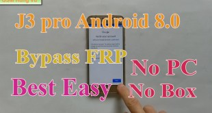 Bypass FRP J3 Pro Android 8.0