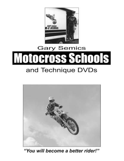 55 Absolute Motocross Techniques Training Manual rear cover