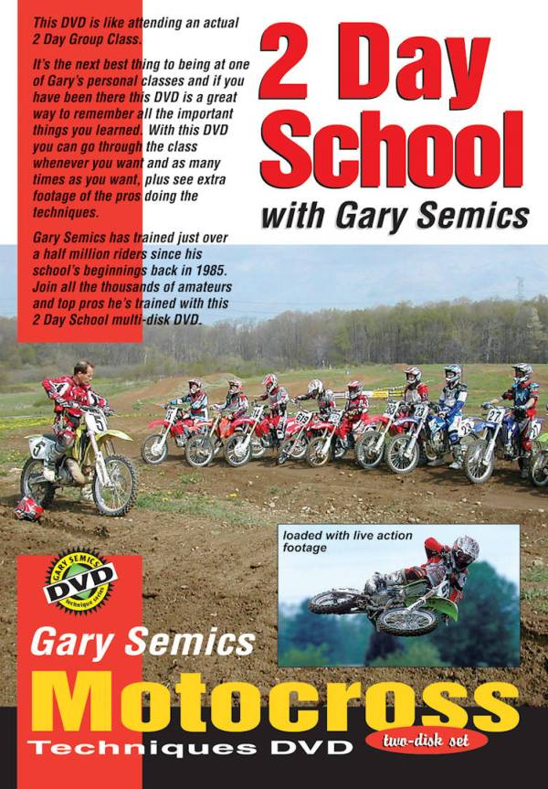 GSMXS 2-day MX School fron cover