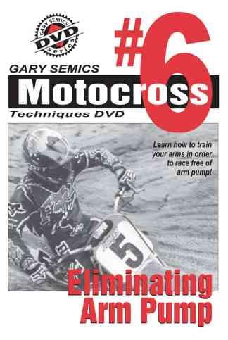 eliminating arm pump motocross