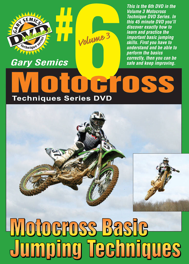 Motocross Basic Jumping Techniques