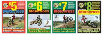 Motocross Rutted Corners Jumping Techniques