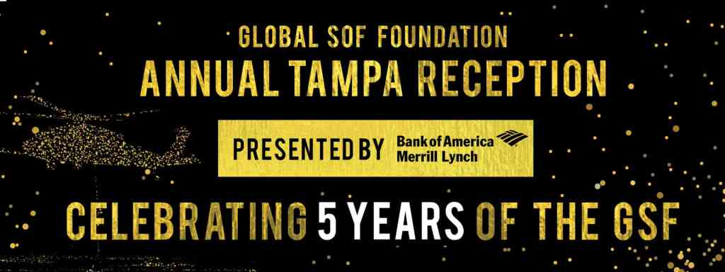2019 Annual Global SOF Foundation Tampa Reception presented by Bank of America Merrill Lynch