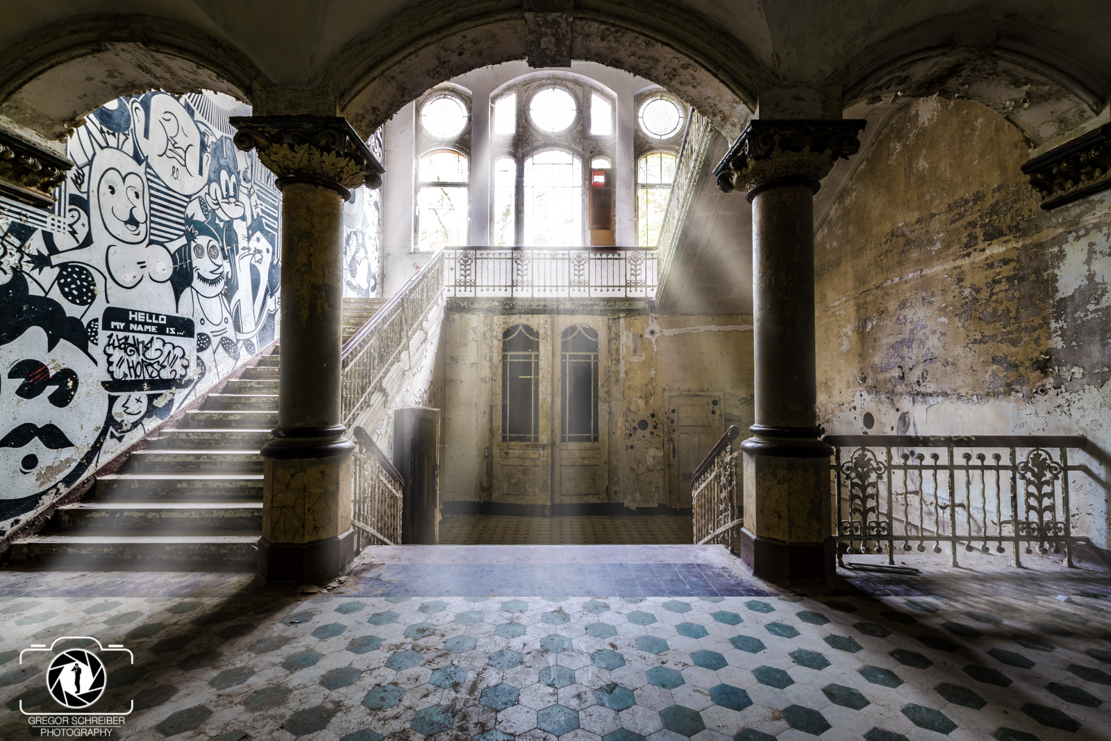 Lost Places - Beelitz Heilstätten - Whitney Houston Haus
