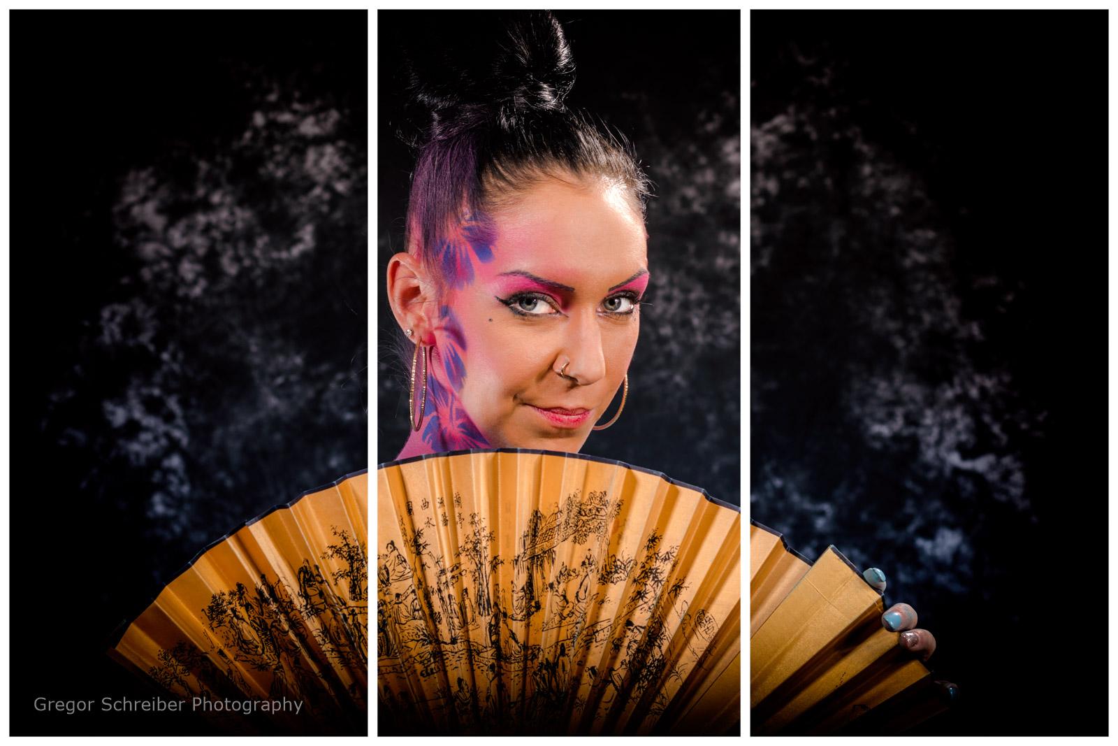 Bodypainting Geisha