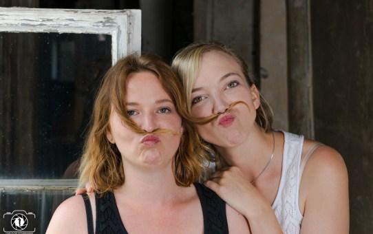 Freundinnen Shooting Sandra & Sonja