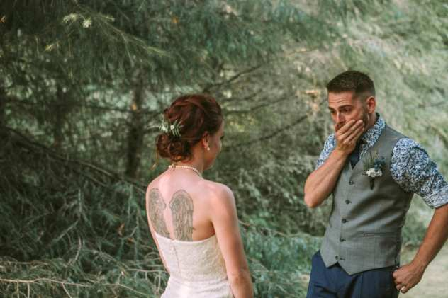 wedding photography hours first look