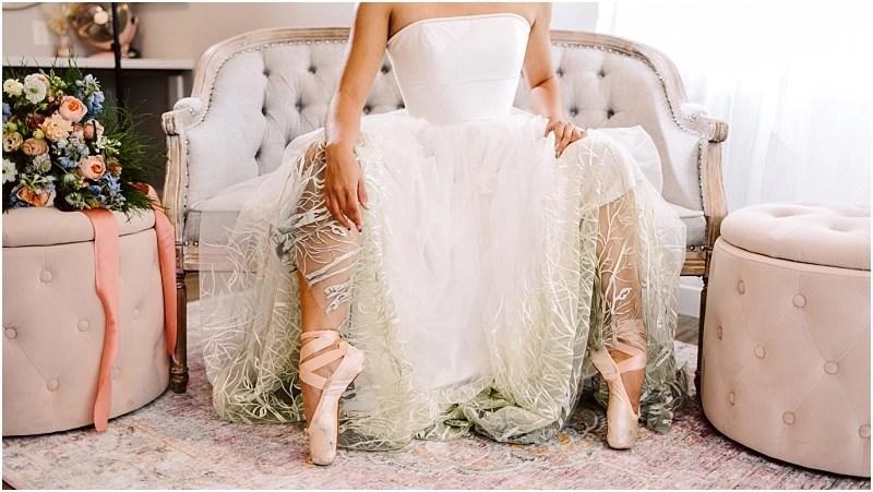 snohomish ballerina bride