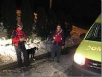 Predaja unesrećenog ekipi Hitne pomoći